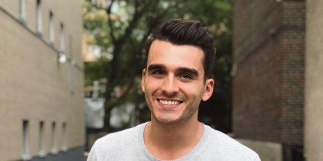 Le chanteur et candidat d'«Occupation Double Grèce» Olivier