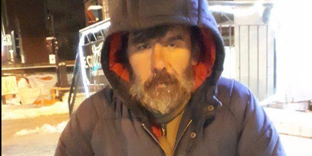 Mario, un itinérant rencontré dans le métro de Montréal (Stéphane