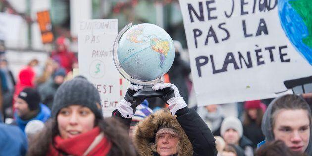 Le 8 décembre dernier, une manifestation pour demander des actions pour lutter contre les changements...