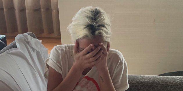 Lady Gaga ne cache pas son émotion après sa victoire aux
