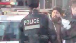 SPVM: arrestation musclée devant des