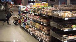 Le tiers du panier d'épicerie québécois formé de produits