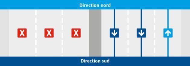 À partir du 18 mars, la moitié du boulevard Pie-IX, à Montréal, sera fermé à la circulation afin de construire...