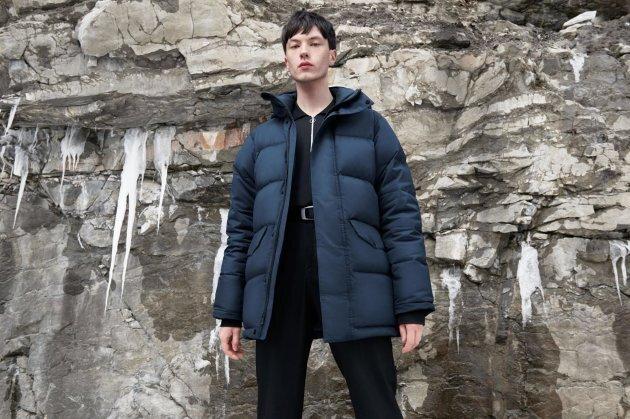 Manteau d'hiver ecko