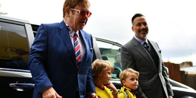 Elton John se confie sur sa paternité et l'éducation de ses