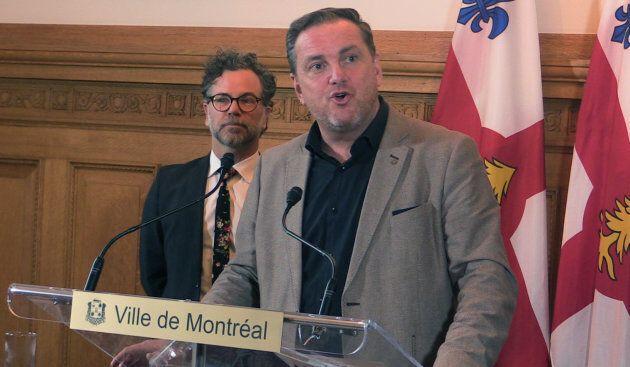 Jean-François Parenteau, responsable des services aux citoyens à la Ville de