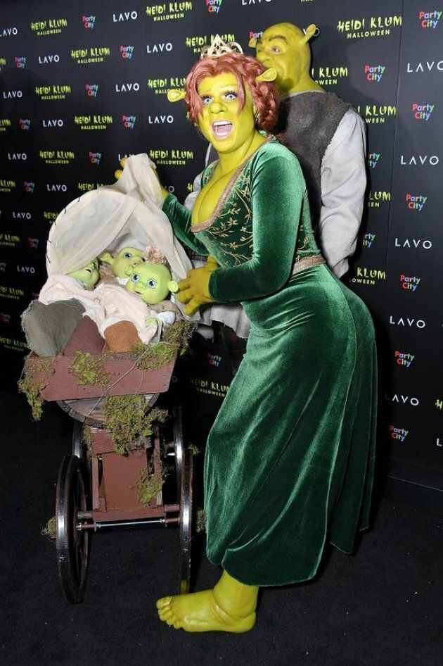 Heidi Klum is the queen of Halloween, and this year, she's truly outdone herself.The model and former...