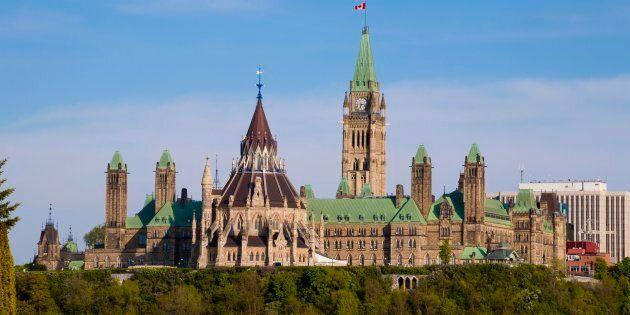 Photo d'archives du Parlement à