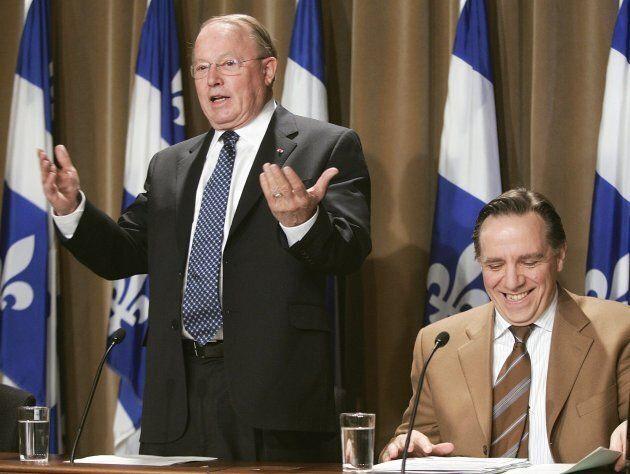 En 2005, le chef de l'opposition Bernard Landry faisait rire son porte-parole en matière de Finances...