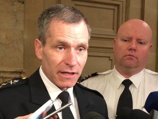 Martin Prud'homme recommande le retour des enquêtes sur les policiers à la division des Affaires internes...