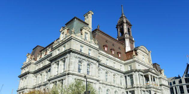 Photo d'archives de l'hôtel de ville de Montréal.