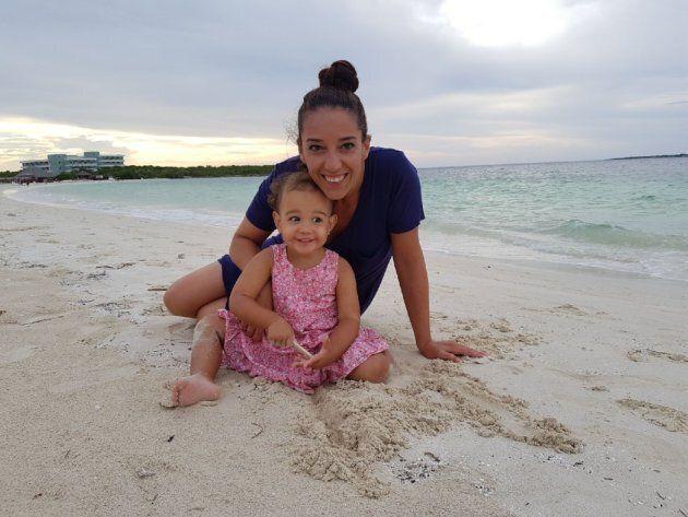 Nancy Audet et sa fille Launa