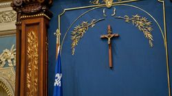 La CAQ veut déplacer le crucifix du Salon bleu de l'Assemblée