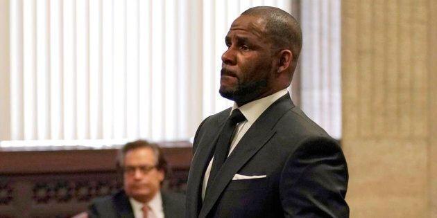R. Kelly en cour, le 22 mars dernier à