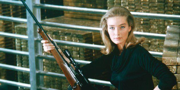 Tania Mallet, l'une des Bond Girls du film «Goldfinger», est