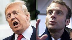 Trump se moque (un peu) de Macron sur