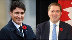 Un sondage place les libéraux 5 points devant les