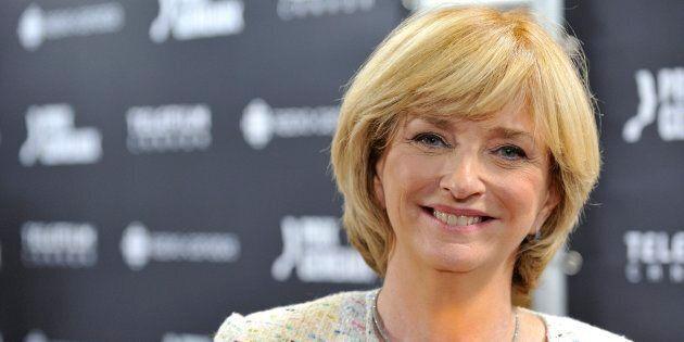 Photo d'Anne-Marie Dussault au gala des prix Gémeaux en