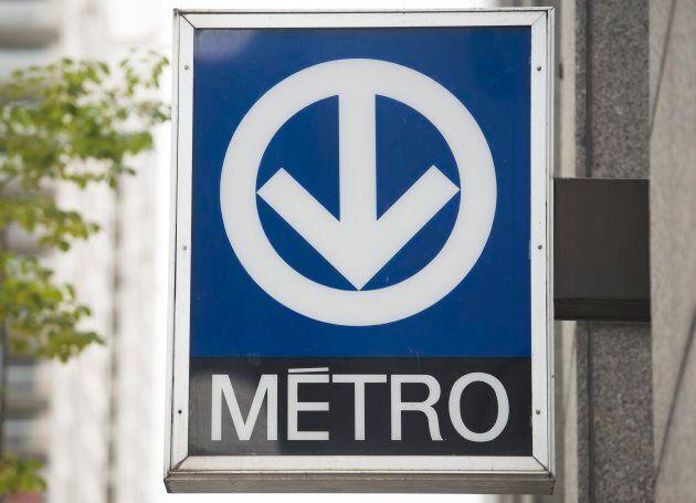 Une station de métro de la