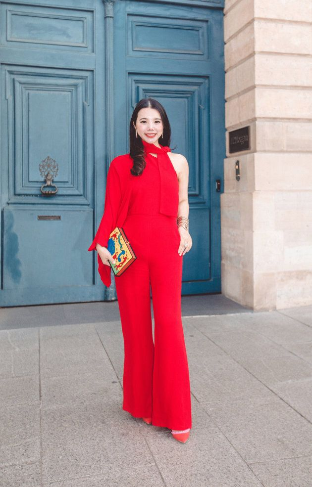 PARIS, FRANCE - SEPTEMBER 30: Fashion investor Wendy Yu arrives at Valentino fashion show during Paris Fashion Week Womenswear Spring/Summer 2019 on September 30, 2018 in Paris, France. (Photo by VCG/VCG via Getty Images)