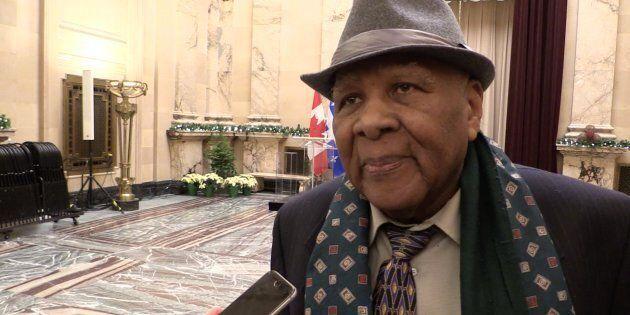 Gabriel Bazin, vice-président de la Ligue des Noirs du Québec, commente le recours collectif de 4 M$...