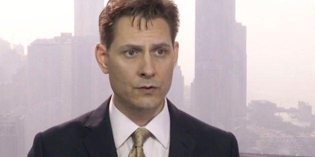 Une image de Michael Kovrig tirée d'une vidéo diffusée le 28 mars