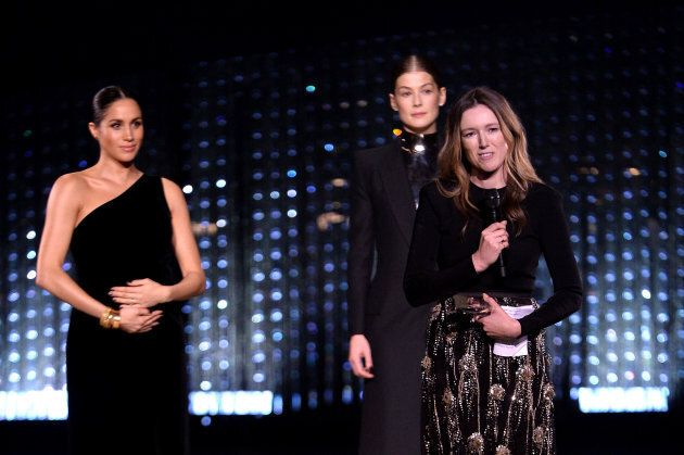 Meghan Markle brise encore le protocole royal aux British Fashion