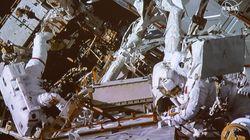 L'astronaute David Saint-Jacques a pris une magnifique photo du fleuve