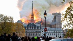 Incendie à Notre-Dame de