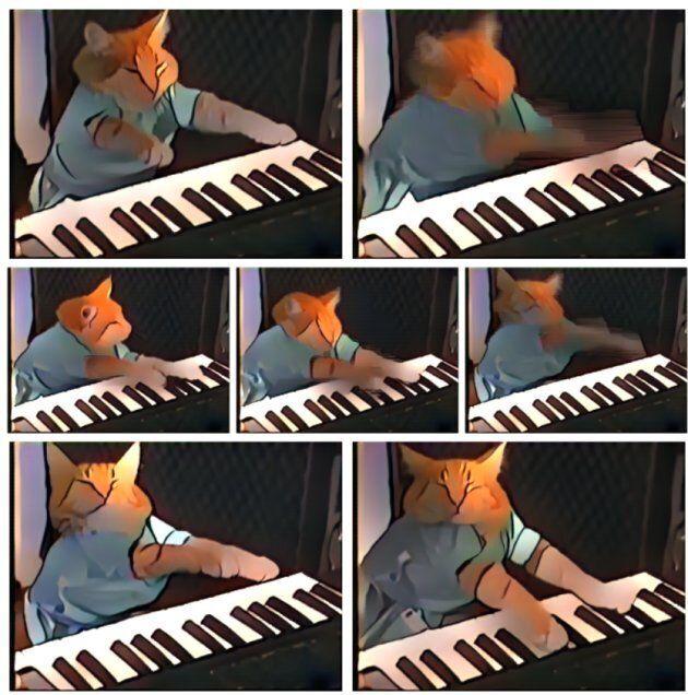 Le keyboard cat façon