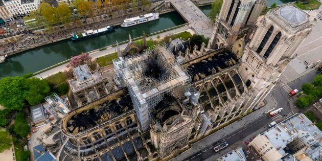 Notre-Dame de Paris: un fonds québécois créé pour aider à la