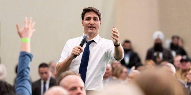 Questionné sur l'immigration, Justin Trudeau déclare que la population peut avoir confiance envers le