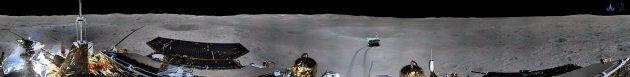 La sonde chinoise renvoie des photos de la face cachée de la