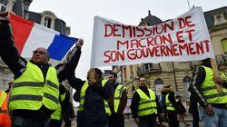 «Gilets jaunes»: mobilisation en hausse en France, moins de