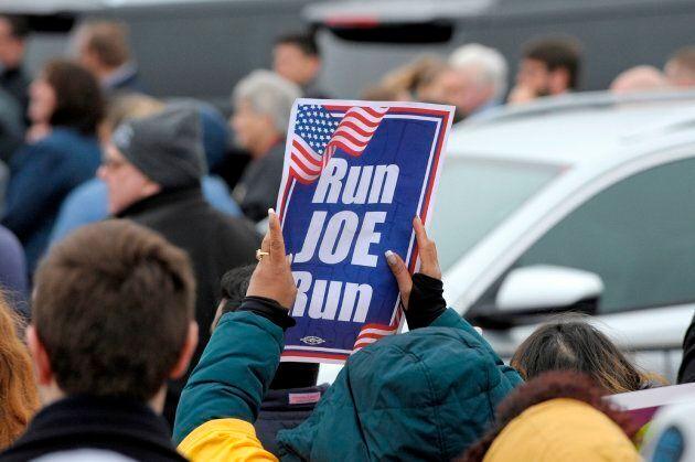 Joe Biden annoncera sa candidature à la Maison-Blanche la semaine