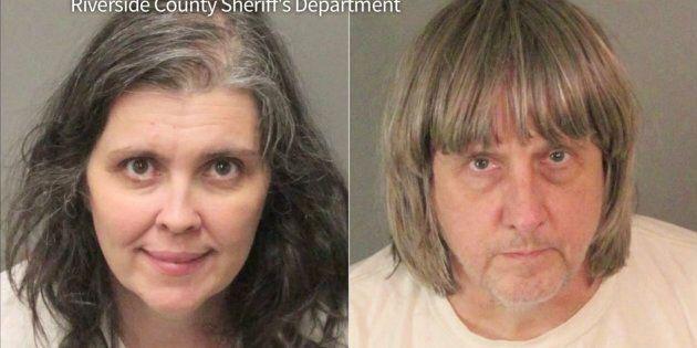 Louise Turpin, 50 ans, et David Turpin, 57 ans, avaient plaidé coupable en février à 14 chefs d'accusation,...