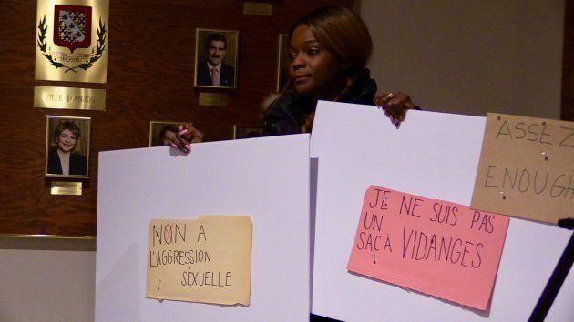 Sandra Boursiquot affirme avoir été violée par le maire de l'arrondissement d'Anjou, Luis