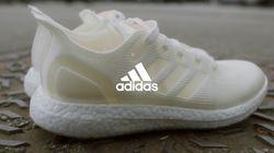 Adidas sort une première paire de baskets 100%