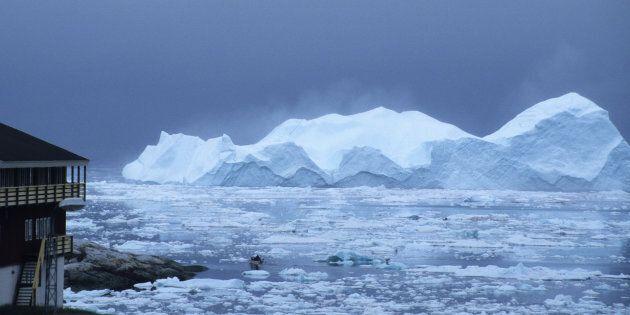 Le Groenland est en train de