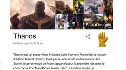 Thanos s'amuse même... sur