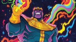 Ces baskets Thanos sortent pile pour le très attendu «Avengers: