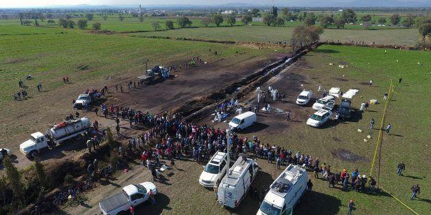 Mexique : le bilan de l'explosion de l'oléoduc est de 79
