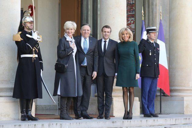 François Legault effectue sa première visite en France depuis qu'il est premier
