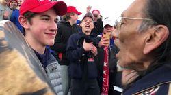 L'Autochtone et le jeune pro-Trump racontent une autre version de