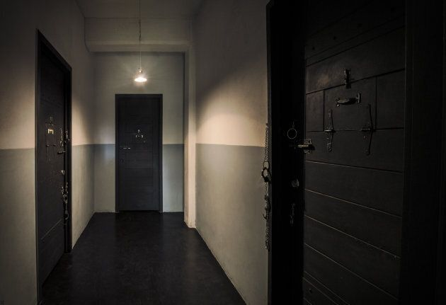 La prison, une des pièces d'Échappe-toi, à