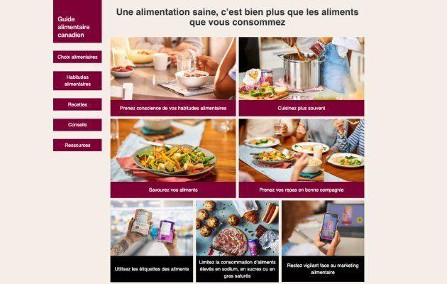 Voici ce qu'il faut savoir sur le nouveau Guide alimentaire