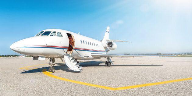Forum économique mondial: un nombre record de vols en jet privé annoncé pour
