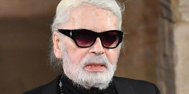 Karl Lagerfeld pour la première fois absent du défilé