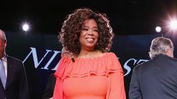 Oprah Winfrey offre une robe de mariée à une