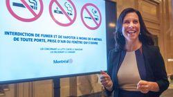Cannabis en public: Valérie Plante fera valoir ses